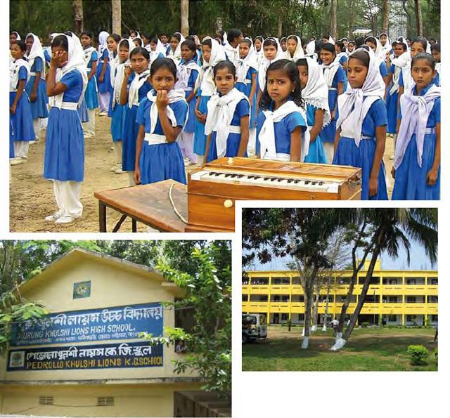 بدرولو إلى جانب الفتيات لمساندة التعليم في بنقلاداش